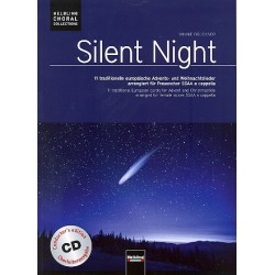 Silent Night (+CD) : für gem Chor a cappella Partitur (Chorleiterband)