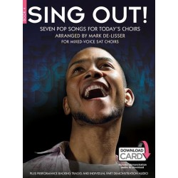 Sing out vol.4 (+download card) : for mixed chorus (SAT) and piano score
