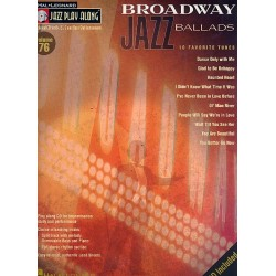 Broadway Jazz Ballads (+CD) : for Bb, Eb, C and bass clef instruments score