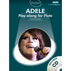 Adele (+CD) : for flute guest spot playalong