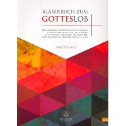Bläserbuch zum Gotteslob : für variables Bläser-Ensemble (Blasorchester/Posaunenchor) Partitur in C