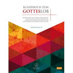 Bläserbuch zum Gotteslob : für variables Bläser-Ensemble (Blasorchester/Posaunenchor) Partitur in B