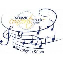 Bach, Johann Sebastian: Aria und Choral aus der Kantate BWV147 : für Blechbläserquintett und Orgel ad lib., Partitur und