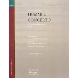 Tarr, Edward: Johann Nepomuk Hummel - Concerto a tromba principale Einführung, historische Betrachtung, Analyse, kritischer
