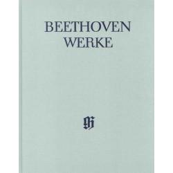 Beethoven, Ludwig van: Beethoven Werke Abteilung 9 Band 8 Schauspielmusiken Band 2 - Festspiele von 1812 und 1822 Partitur mit