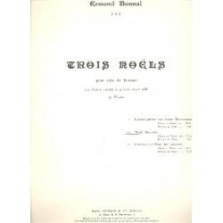 Bonnal, Joseph Ermend: Noel Nouvelet pour choeur mixte (SSA) et piano