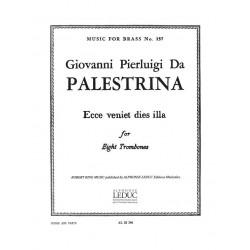 Palestrina, Giovanni Pierluigi: ECCE VENIET DIES ILLA : FOR 8 TROMBONES SCORE+PARTS MUSIC FOR BRASS 157 AB