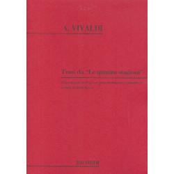 Vivaldi, Antonio: Temi da Le quattro stagioni : per organo elettronico (pianoforte)