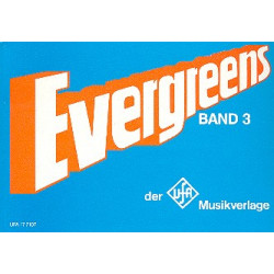 Evergreens der UFA-Musikverlage: Chorusbuch band 3