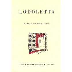 Mascagni, Pietro: Lodoletta : Libretto (it)