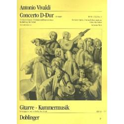Vivaldi, Antonio: Konzert D-Dur : für Gitarre und Streichorchester Stimmenset (1-1-1-1-Bc)