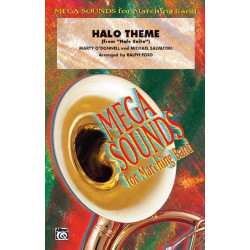 O'Donnell, Marty: Halo Theme : for marching band score and parts
