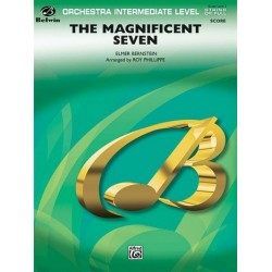Bernstein, Elmer: The magnificent Seven: for orchestra score and parts (strings 8-8-5-5-5-5)