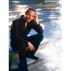Brickman, Jim: Beautiful : Einzelausgabe piano/vocal/chords