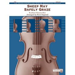 Bach, Johann Sebastian: Sheep May Safely Graze for 2 violins, viola, violoncello and string bass score