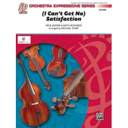 Jagger, Mick: I can't get no Satisfaction : for string orchestra (percussion and piano ad lib) score