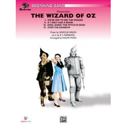 Arlen, Harold: The Wizard of Oz (Selections) : for concert band score and parts