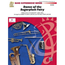 Tschaikowsky, Peter Iljitsch: Dance of the Sugar Plum Fairy : for concert band score and parts