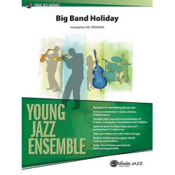 Big Band Holiday (Medley) : for young jazz ensemble piano score and parts