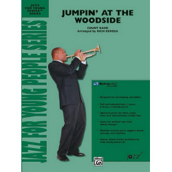 Basie, Count: Jumpin' at the Woodside : for jazz ensemble