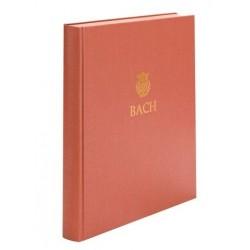Bach, Johann Sebastian: Neue Ausgabe sämtlicher Werke Serie 6 Band 4 : 3 Sonaten BWV1027-1029 für Viola da gamba und Cembalo