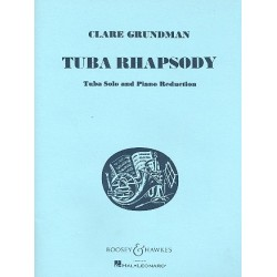 Grundman, C.: Tuba Rhapsody : for tuba and piano