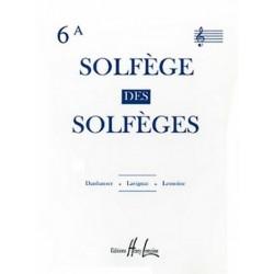 Danhauser, Adolphe Leopold: SOLFEGE DES SOLFEGES VOL.6B : POUR 2 VOIX (S/A) ET PIANO (TREBLE CLEF)