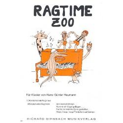Heumann, Hans-Günter: Ragtime Zoo : 10 kinderleichte Ragtimes, 4 Kinderlieder-Ragtimes für Klavier