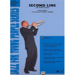 Second Line : for jazz ensemble score and parts