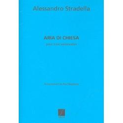 Stradella, Alessandro: Aria die chiesa : pour 3 violoncelles