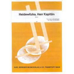 Berbuer, Karl: Heidewitzka Herr Kapitän: Einzelausgabe für Gesang und Klavier