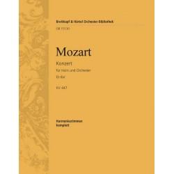 Mozart, Wolfgang Amadeus: Konzert Es-Dur Nr.3 KV447 : für Horn und Orchester Harmoniestimmen