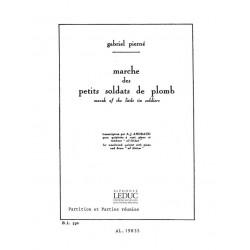 Pierné, Gabriel Henri Constant: Marche des petits soldats de plomb op.14,6 pour flûte, hautbois, clarinette, basson et cor en fa