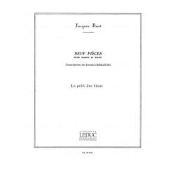 Ibert, Jacques: Le petit âne blanc : pour basson et piano