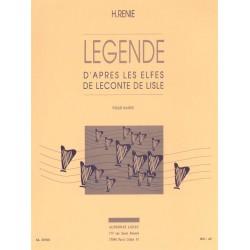 Renié, Henriette: Legende d'après les elfes de leconte de lisle : pour harpe