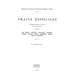 Traits difficiles vol.1 : pour cor