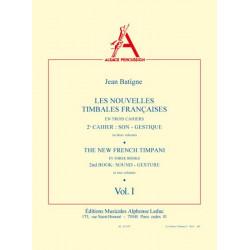 Batigne, Jean: Les nouvelles timbales francaises vol.2,1 (frz/en)