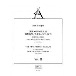 Batigne, Jean: Les nouvelles timbales francaises vol.2,2 (frz/en)