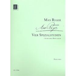 Reger, Max: 4 Spezialstudien f├╝r die linke Hand allein : f├╝r Klavier