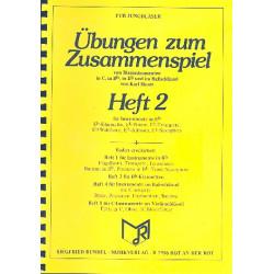 Moser, Karl: Übungen zum Zusammenspiel von Blasinstrumenten Band 2 : für Instrumente in Es