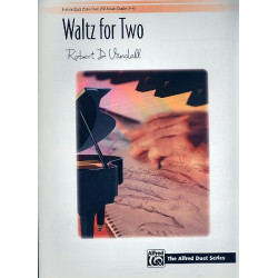 Vandall, Robert D.: Waltz for Two : for piano 4 hands