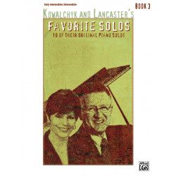 Kowalchyk, Gayle: Favorite Solos vol.3 : for piano