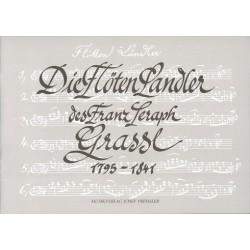 Grassl, Franz Seraph: Die Flöten-Landler : für 3 Blockflöten (AAT) Partitur