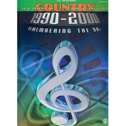10 Years of Country Music History (1990-2000) : the green book songbook piano (vocal/guitar)