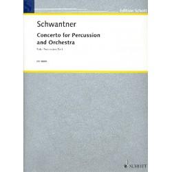 Schwantner, Joseph: Konzert : f├╝r Schlagzeug und Orchester Schlagzeug