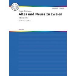 Herrmann, Hugo: Altes und Neues zu zweien : für Akkordeon und Klavier Spielpartitur