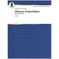 Translateur, Siegfried: Wiener Praterleben und Sportpalastwalzer : f├╝r Klavier
