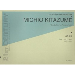 Kitazume, Michio: Side by Side : for percussion