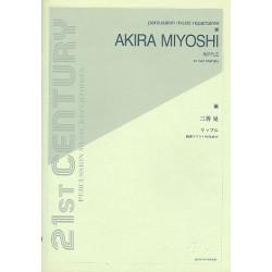 Miyoshi, Akira: Ripple für Marimbaphon