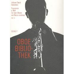 Heinichen, Johann David: Triosonate c-Moll : f├╝r 2 Oboen und Bc